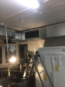 ремонт вентиляции в ресторане