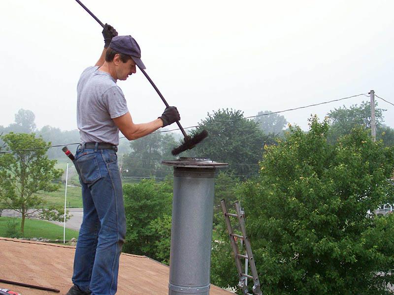 чистка каминов дымоходов